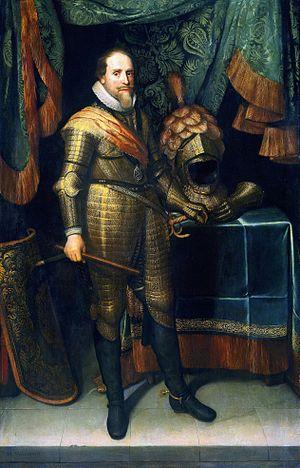 Ahmad ibn Qasim Al-Hajarī - Al-Hajari discussed an alliance with Maurice of Orange.