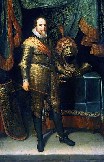 Michiel Jansz van Mierevelt - Maurits prins van Oranje-edit 1