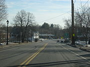 Middleton MA downtown looking east