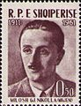 Migjeni 1961 Albania stamp.jpg
