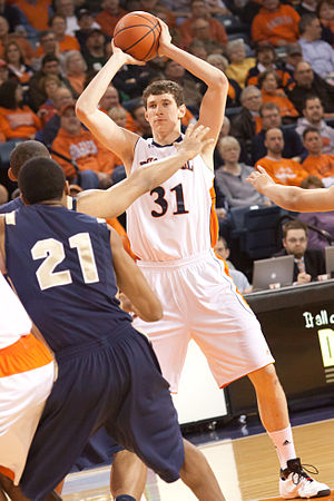 Mike Muscala - Muscala with the Bucknell Bison