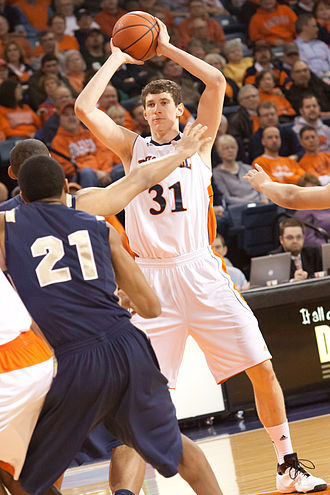 Mike Muscala - Muscala left Bucknell as the school's all-time leading scorer.