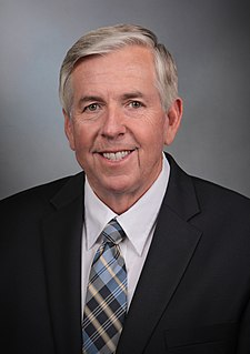 Mike Parson 57th Governor of Missouri