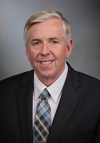 Mike Parson - Image: Mike Parson official photo
