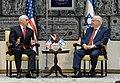 Mike Pence visit at Beit HaNassi, January 2018 (3557).jpg