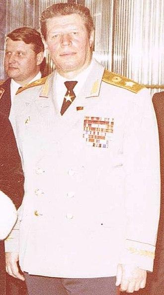 Mikhail Zaitsev - Image: Mikhail Zaitsev,1983