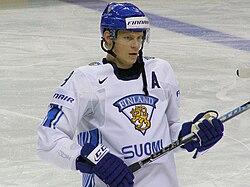 Mikko Koivu i det finlandske landshold.