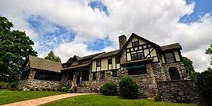 Franklin Clarence Mars - Milky Way Farm Manor House, May 2014.