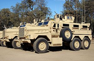 Mine resistant ambush protected vehicles