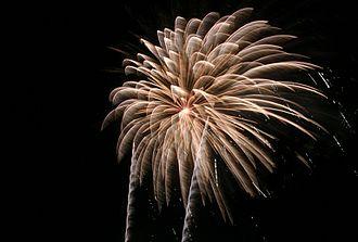 Minneapolis Aquatennial - Image: Minneapolis Aquatennial fireworks 2007