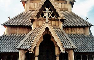 Scandinavian Heritage Park - Stave Church detail