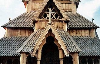 Scandinavian Heritage Park - Stave Church detail