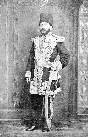 Mirza Hosein Khan Moshir od-Dowleh - Image: Mirza Hosein Khan Moshir od Dowleh
