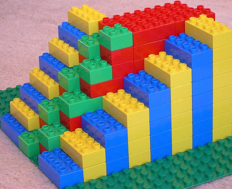 Model of an Alternating Tread Stair