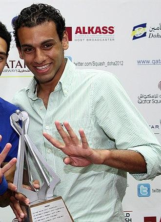 Mohamed El Shorbagy - Mohamed El Shorbagy in 2012