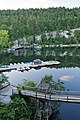 Mohonk Mountain House 2011 View of Boat Dock From Room Narrow FRD 2888.jpg