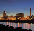 Moncton Skyline at night.png