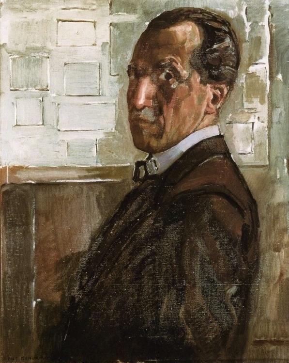 Mondrian Zelfportret 1918
