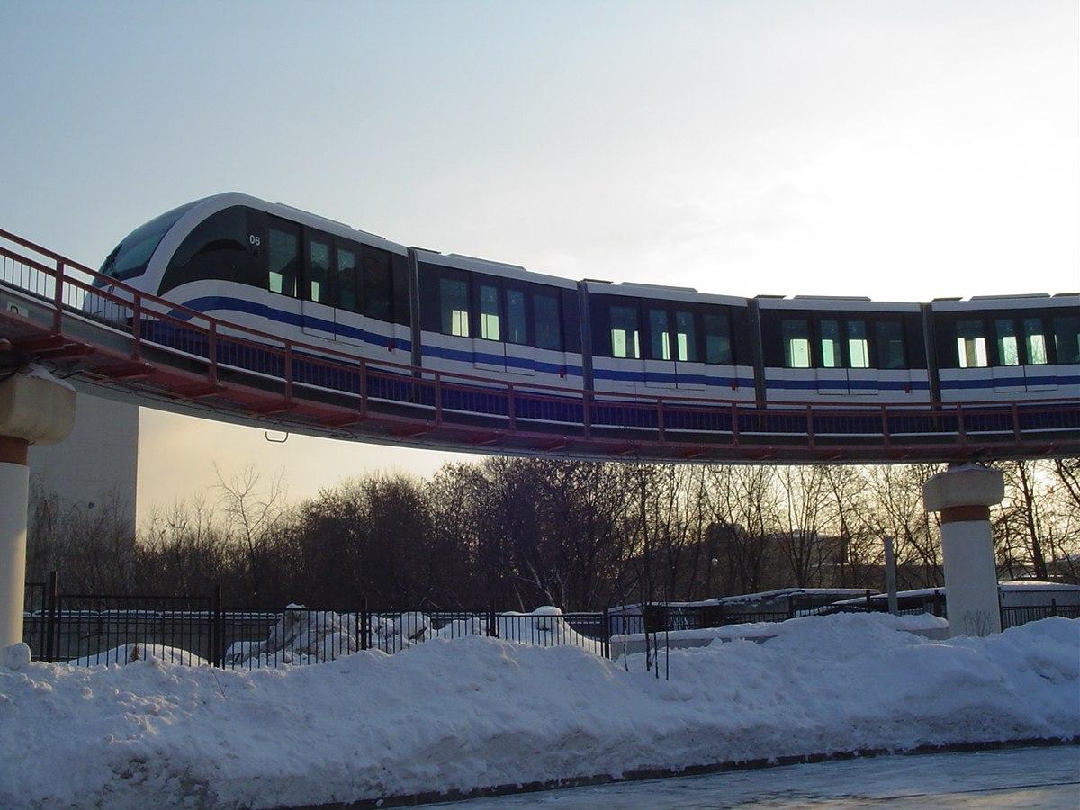 Monorail de moscou wikip dia - Office de tourisme moscou ...