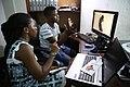 """Montage du clip """"Je veux que le monde entier sache"""" à Goma, pour la lutte contre l'enrôlement des enfants dans les groupes armés. (24056095816).jpg"""