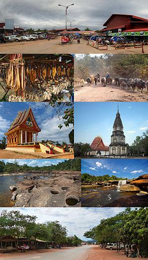 Bolikhamsai Province - Image: Montage of Bolikhamsai Province, Laos