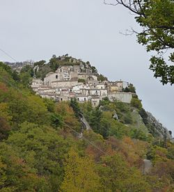 View of Montelapiano