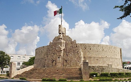 Monumento Merida Yucatan best places to visit in mexico