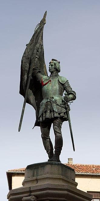 Juan Bravo - Monument to Juan Bravo in Segovia.