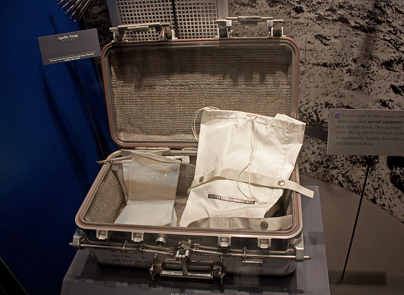 Moon sample case in National Museum of Natural History.jpg