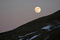 Moonrise over Meikle Shag, Lanarkshire - geograph-1685256.jpg