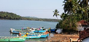 Vatakara - Jetty on the Moorad river