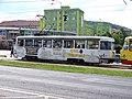 Most, tř. Budovatelů, tram zastávka OD PRIOR, cyklotramvaj 277.jpg
