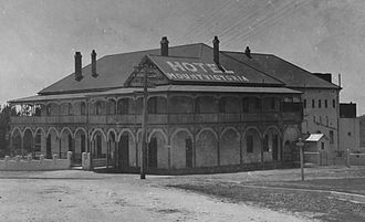 Mount Victoria, New South Wales - Mount Victoria Hotel in the 1920s