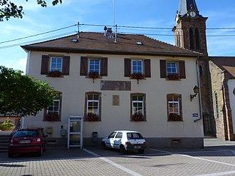 Muhlbach-sur-Bruche - Municipal building of Muhlbach-sur-Bruche