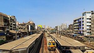 Masjid railway station - Image: Mumbai 03 2016 61 Masjid station