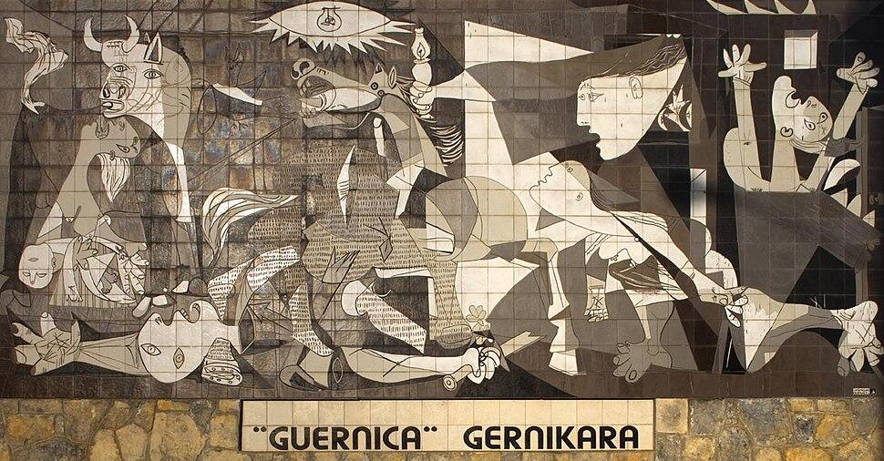 Mural del Gernika