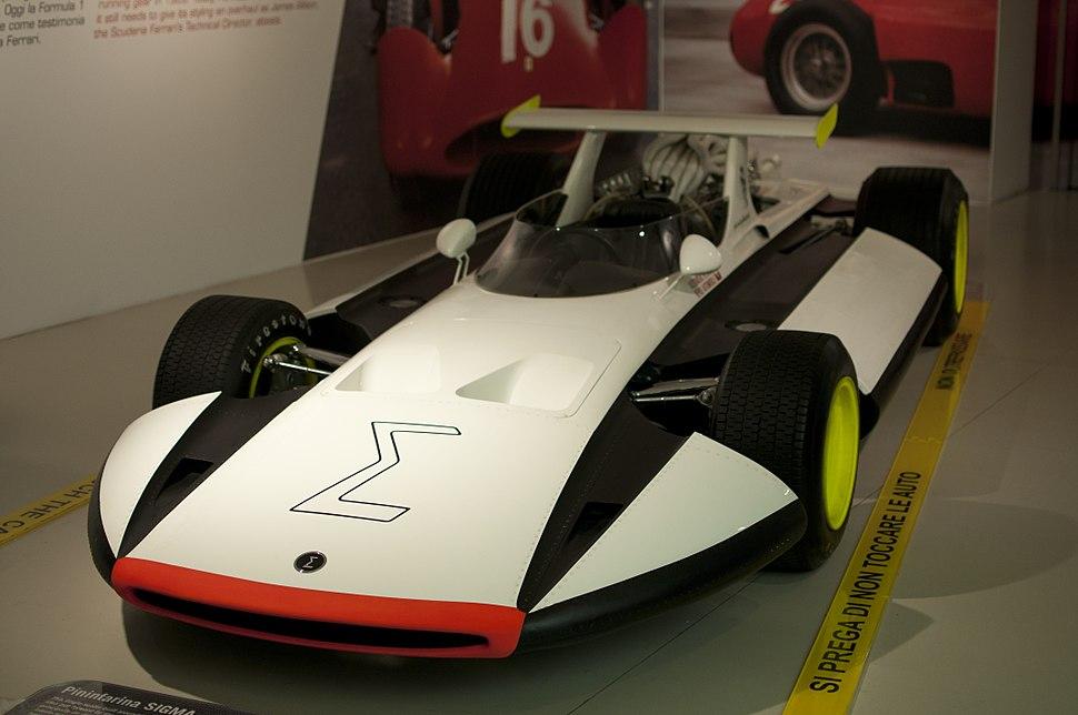 Museo Ferrari - Pininfarina Sigma Grand Prix (front)