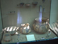 Pottery found at Çatal Höyük - sixth millennium BC