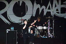 My Chemical Romance în Perth, Australia în 2007.