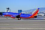 N453WN Southwest Airlines Boeing 737-7H4 (cn 29847-1476) (8298607849).jpg