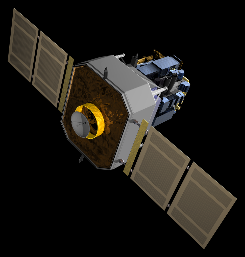 NASA SOHO spacecraft