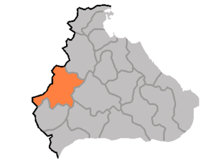 County in Kangwŏn Province, North Korea