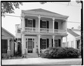 NORTH (FRONT) ELEVATION (HORIZONTAL) - Blum House, 630 Louisiana Avenue, Baton Rouge, East Baton Rouge Parish, LA HABS LA,17-BATRO,1-1.tif