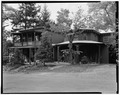 NORTH GATEHOUSE, SOUTH FACADE - Edgewater, North Gatehouse, Station Road, Barrytown, Dutchess County, NY HABS NY,14-BARTO.V,1B-1.tif