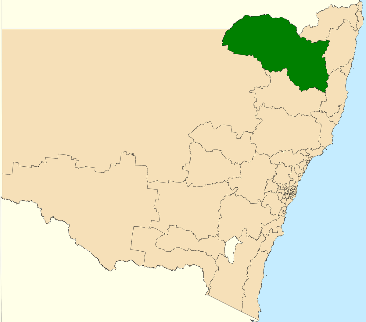 Electoral district of Northern Tablelands - Wikipedia