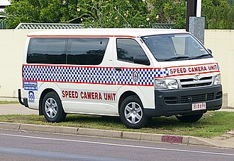 Northern Territory Police - Mobile speed camera unit