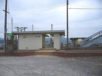Nagamori Station - Nagamori Station in June 2006