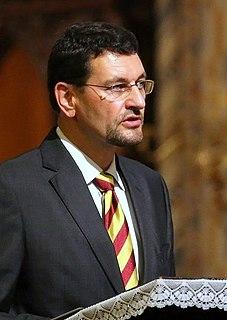 Gábor Tamás Nagy Hungarian politician