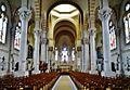 Nancy Basilique Sacré-Coeur Innen Langhaus Ost 2.jpg
