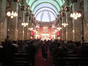 Roman Catholic Archdiocese of Beijing - Cathedral interior